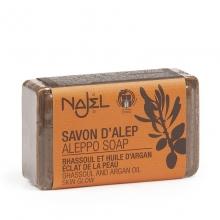 Aleppské mýdlo s jílem rhassoul a arganovým olejem