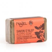 Aleppské mýdlo s květy pomerančovníku