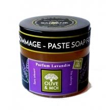 Savon d´hammam - olivová pasta, LEVANDULE