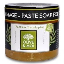 Savon d´hammam - olivová pasta, EUKALYPTUS